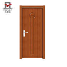 Modern design sliding pvc wood door with high quality from china supplier