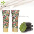 tube de fleur ovale pour l'emballage de soin de peau