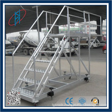 Warehouse Step Steel Rack Ladder