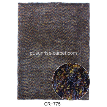 Microfiber Space Dyed Yarn Carpet Rug