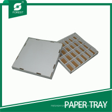 Hard Paper Tray with Partition