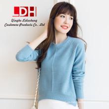 2017 Nuevo visón genuino personalizado oversize lana de conejo lana pura suéteres de cachemira suéter
