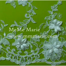 Appliqued Lace Flower 3D Embroidery Lace for Garment CTC070AB
