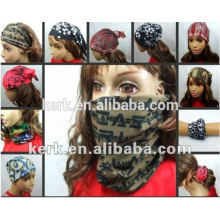 Custom head bandanas! Lowest Price, Best Quality! Best Discount Express Shippment Provide!