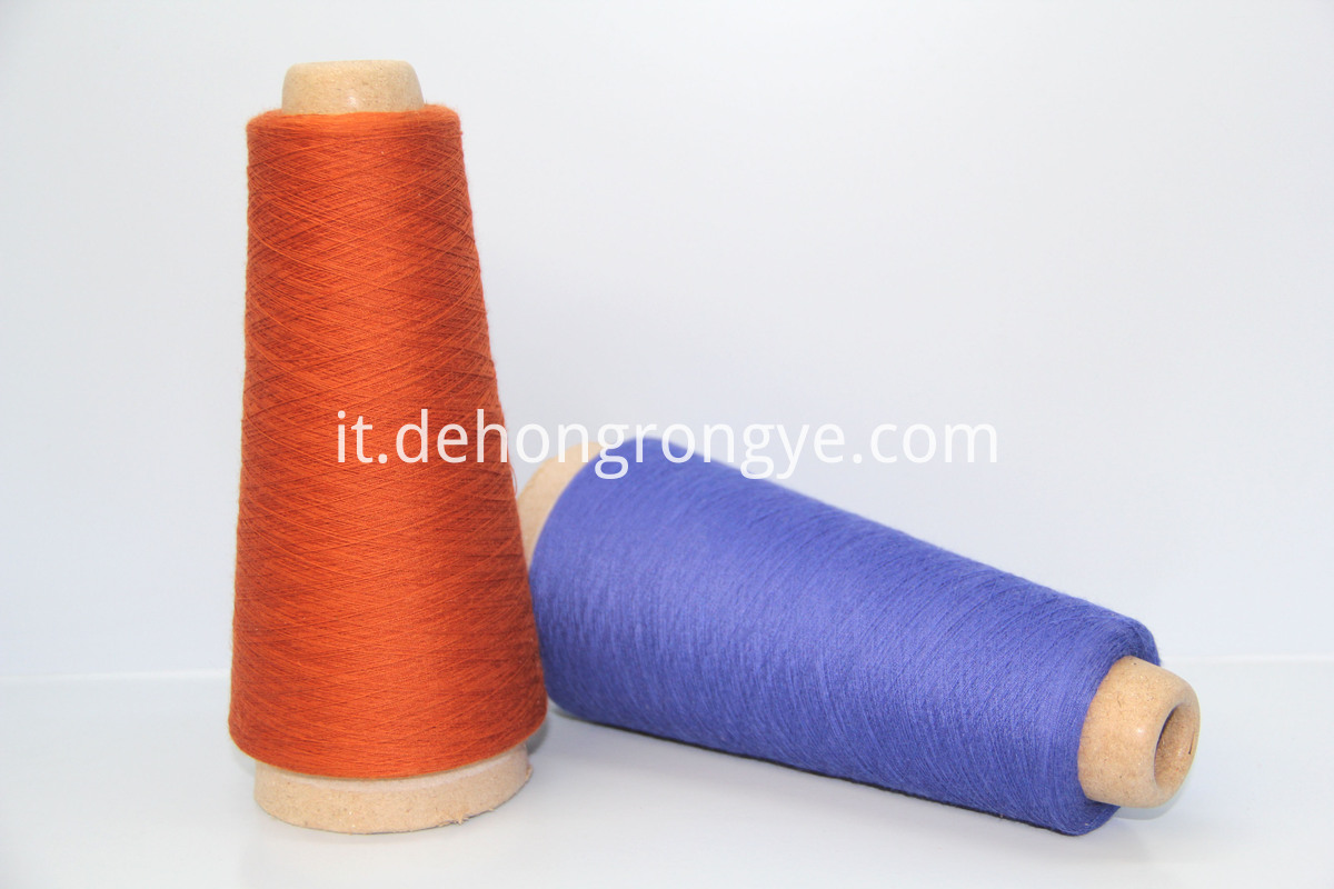 worsted cashmere woven yarn