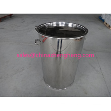 Tanque de aço inoxidável 200L com tampa de vedação