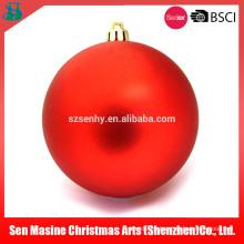 Shopping Mall bolas de Navidad baratos de plástico