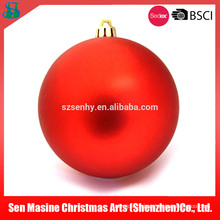 Shopping Mall bola de plástico de Natal barata