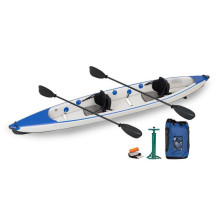 Inflável sentar-se no caiaque superior Blue Ocean Kayak