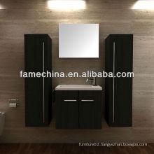 2013 Black Matt Painting Wall Mounted MDF Bath Furniture