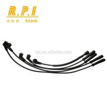 Cable de ignición del silicón de alto voltaje, CABLE DEL ENCHUFE DE LA CHISPA PARA KIA CARBURADOR KK150-18-140