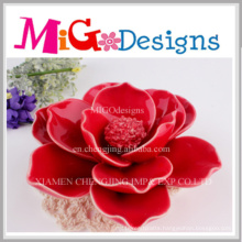 Ceramic New Promotion Lotus Cheap Wedding Candles Holders