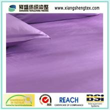 100% tecido de cetim de algodão de largura largura para Home Textile