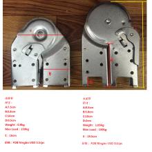 charnières en aluminium pliantes d'échelle dans des accessoires et des pièces d'échelle