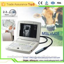Ecografo portable pour machine à ultrasons vétérinaire et échographique MSLVU08-N
