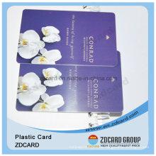 Tarjeta de visita de PVC / impresión de la tarjeta de identificación de PVC