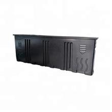 черная вакуумная формованная пластиковая наружная оболочка