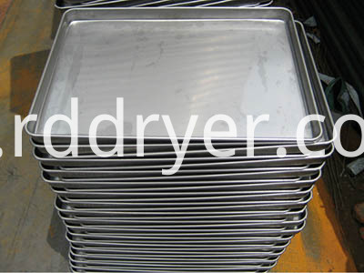 Stainless steel barbecue tray