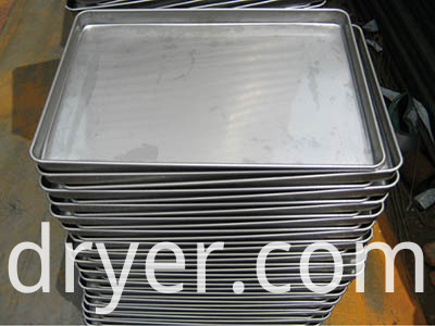 Custom stainless steel serving tray