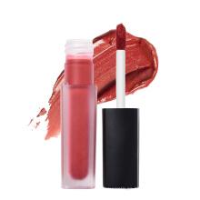 Etiqueta privada de color brillo labial cosmético para mujeres