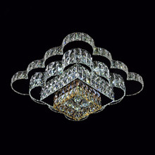 Factory made hot-sale for Crystal Ceiling Lamp modern mini crystal chandelier ceiling lights supply to India Factories