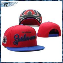 OEM 2015 Haute qualité personnalisé broderie snapback chapeaux gros en gros fabriqués en Chine