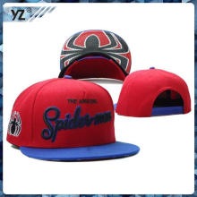 OEM 2015 High Quality custom embroidery snapback hats wholesale wholesale made in China