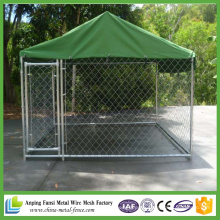 China Supplier 10FT X 10FT X 6FT China Chain-Link Dog Kennel