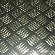 Placa de alumínio a xadrez