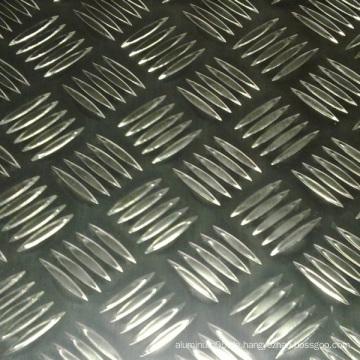 Aluminium karierte Platte
