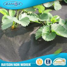 Proveedor de China que cubre la envoltura de la flor Material Agricultura Negro Película de plástico