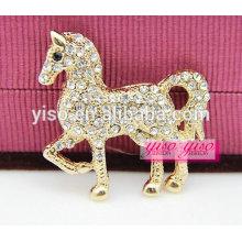 Красивая лошадь лошади кристалл мода брошь животных