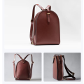 Backbag ad arco casual in pelle stile classico vintage
