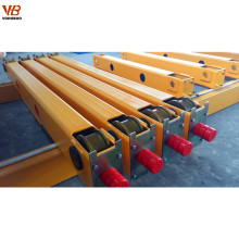Top quality 75/20T Double Girder Overhead Crane /bridge crane end trucks