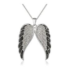 Heiße Verkauf 925 Sterlingsilber-Flügel-Anhänger-Halsketten-Schmucksachen