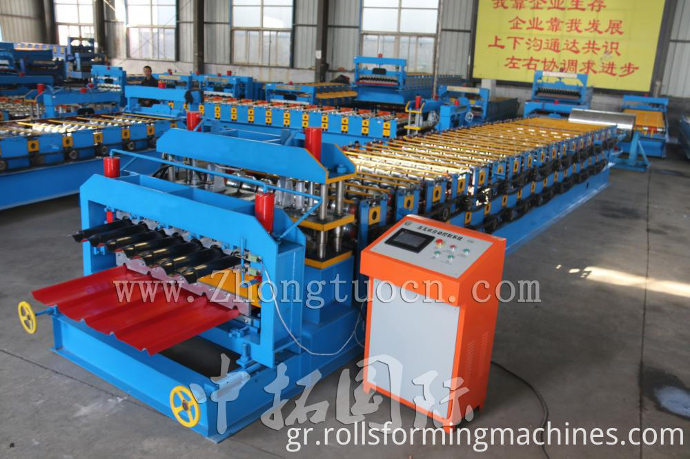 Double Layer Roll Forming machine (16)