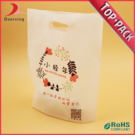 Personalized Handle Plastic Bag with Logo