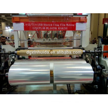 double layer casting lldpe stretch film machine cling film making machine Quality Assured