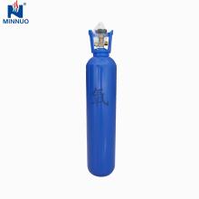 50l ampliamente utilizado en cilindro industrial de gas de oxígeno sin costura