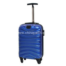 Wave Pattern Outside Trolley PC Luggage