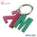 Custom Colorful PU Key Ring