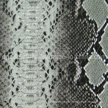 Snake Design Semi-PU Leather for Bag (QDL-BS016)