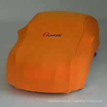 Estire la cubierta de la protección del sedán de la cubierta del coche interior elástica anti-pilling a prueba de polvo