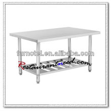 S008 Commercial Kitchen Stainless Steel Bench