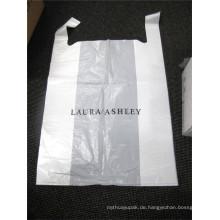 Benutzerdefinierte gestanzte Logo Kunststoff Einkaufstasche