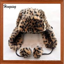 Chapéus artificiais do inverno de lãs
