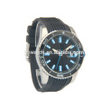 Stylish charming sporty men watches with luminous index