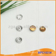 Prong Snap Button / Gripper con diseño de moda / logotipo MPC1031