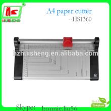 Desktop de escritório cortador de papel rotativo de metal de alta qualidade