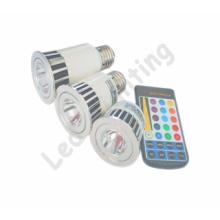 LED Light - RGB LED Spotlight Bulb Lamp (E27 5W)